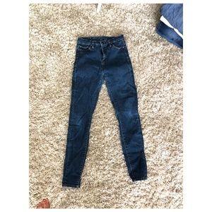 Blank NYC Skinny High Waisted Jeans